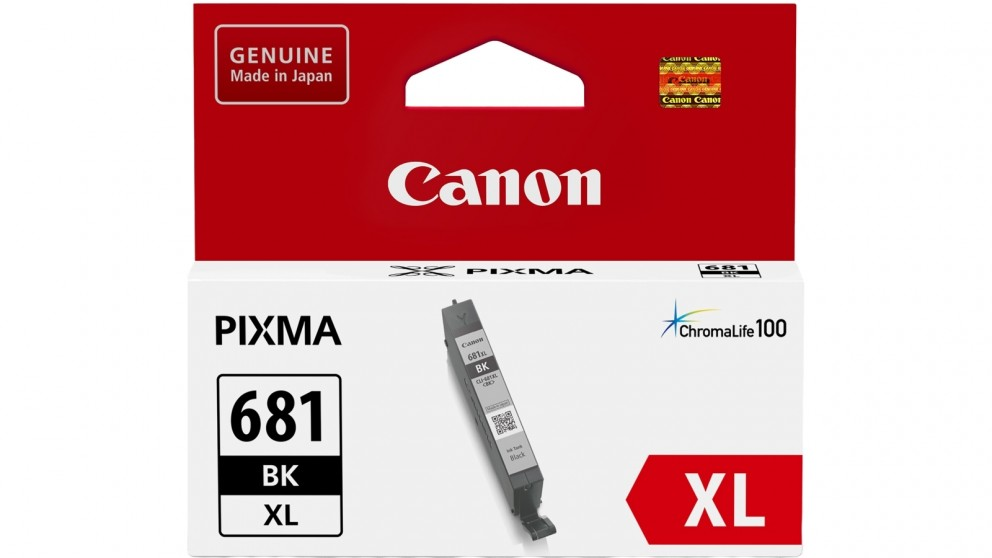 Canon CLI681XLBK Black XL Ink Cartridge