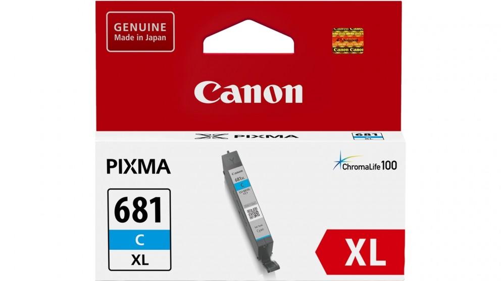 Canon CLI681XLC Cyan XL Ink Cartridge