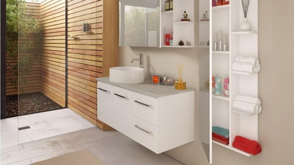 Vanity Bathroom Harvey Norman timberline houston 1200 wall hung vanity - bathroom vanities