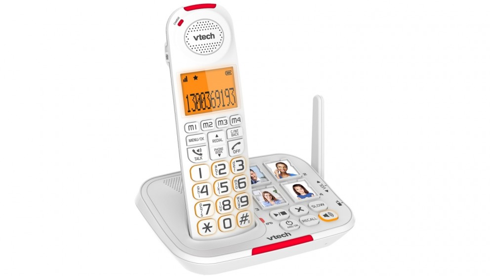 VTech 17450 CareLine DECT6.0 Cordless Phone