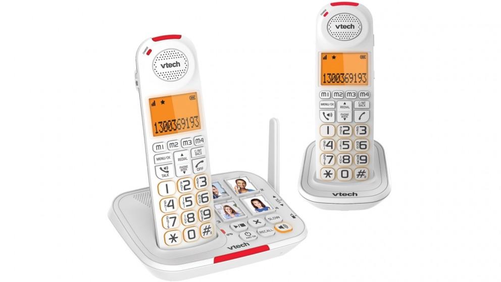 VTech 17450 CareLine 2-Handset DECT6.0 Cordless Phone