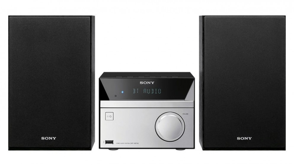 sony micro hi fi system with bluetooth hi fi systems sound systems headphones audio. Black Bedroom Furniture Sets. Home Design Ideas