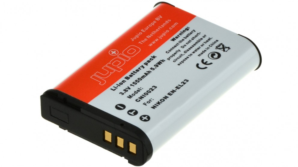 Jupio Nikon EN-EL23 1550mAh Battery