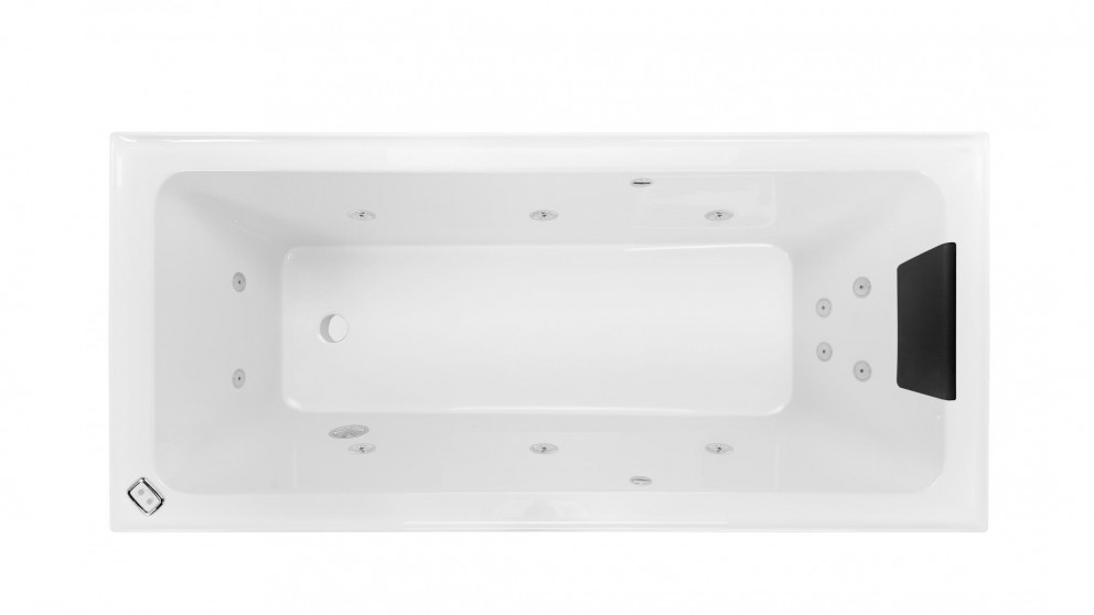 Decina Cortez 1670mm 12 Jet Contour Spa Bath