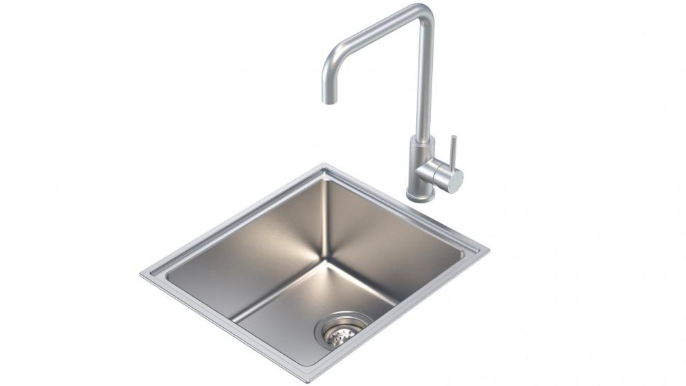 Caroma Compass Alfresco Single Bowl Sink