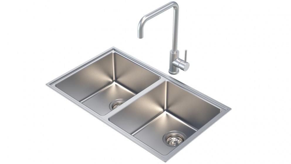 Caroma Compass Alfresco Double Bowl Sink