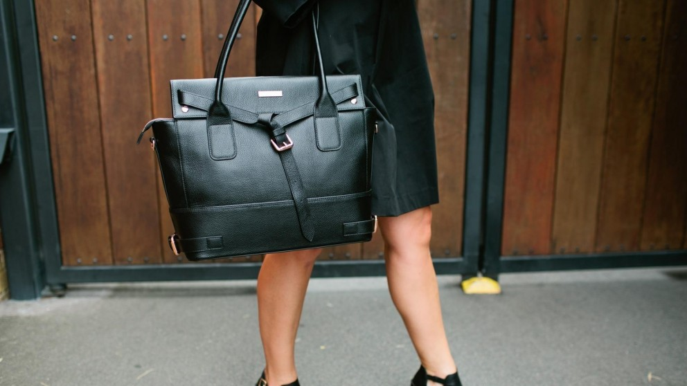 Code Republic Nicole Luxe Tech Handbag - Black