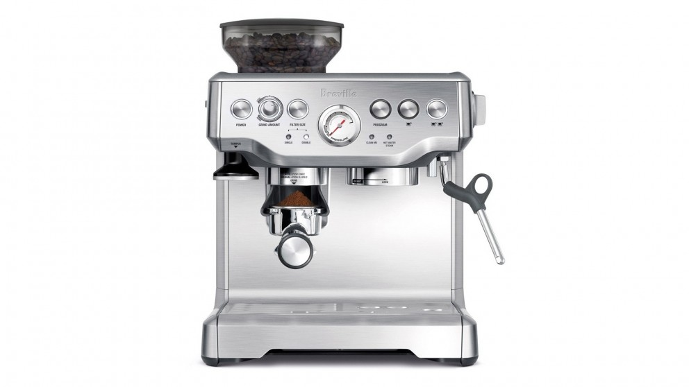Breville Coffee Maker Parts Manual : Breville Barista Express Manual Coffee Machine - Coffee Machines - Coffee & Beverage - Kitchen ...