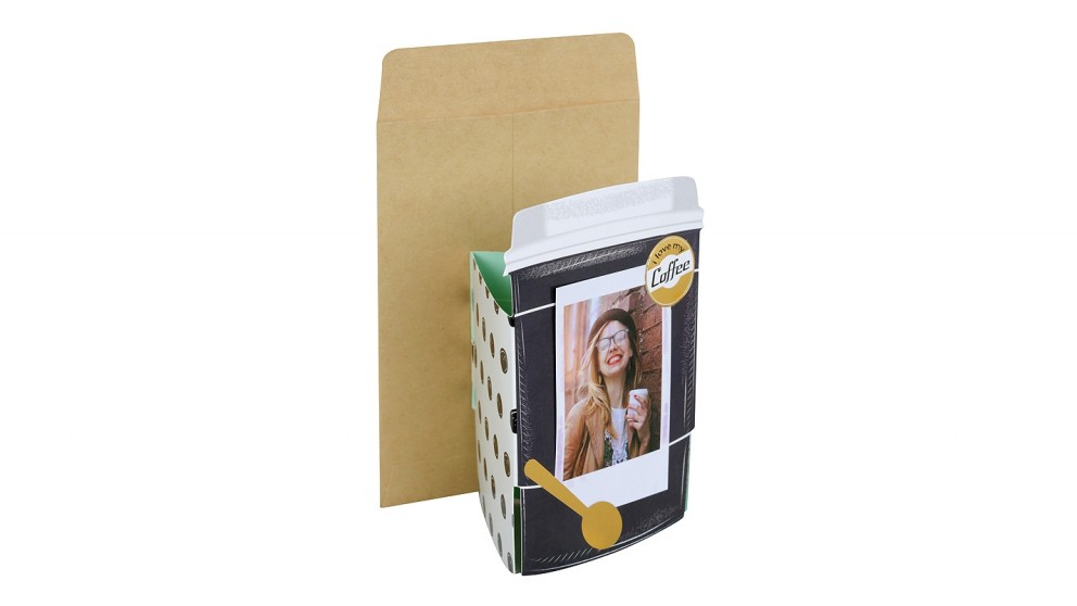 Instax Mini Stand-Up Photo Card - Coffee