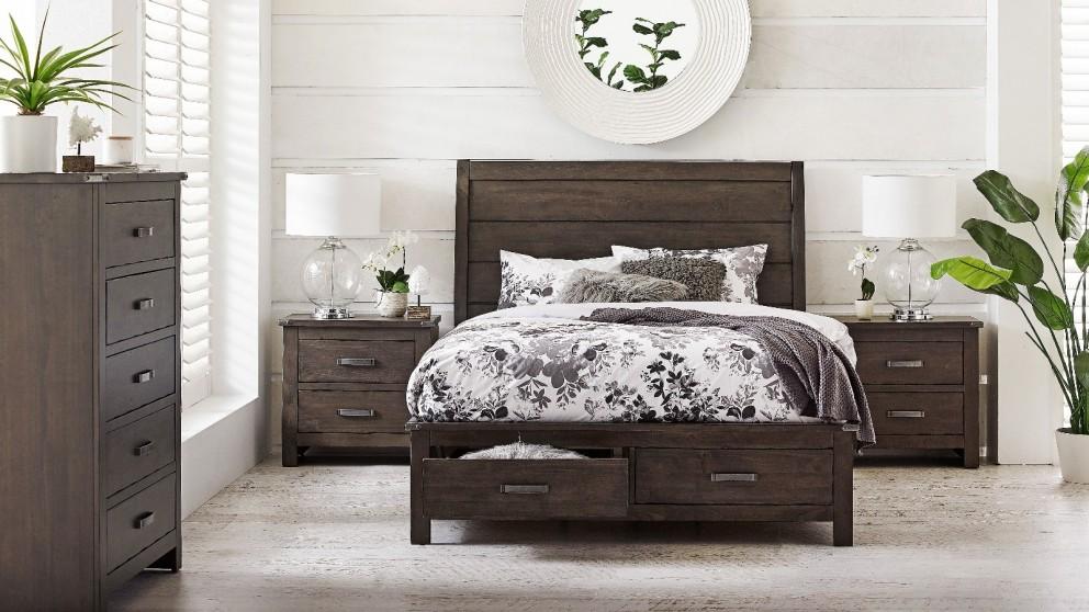 Buy Colorado 2-Drawer Queen Bed | Harvey Norman AU