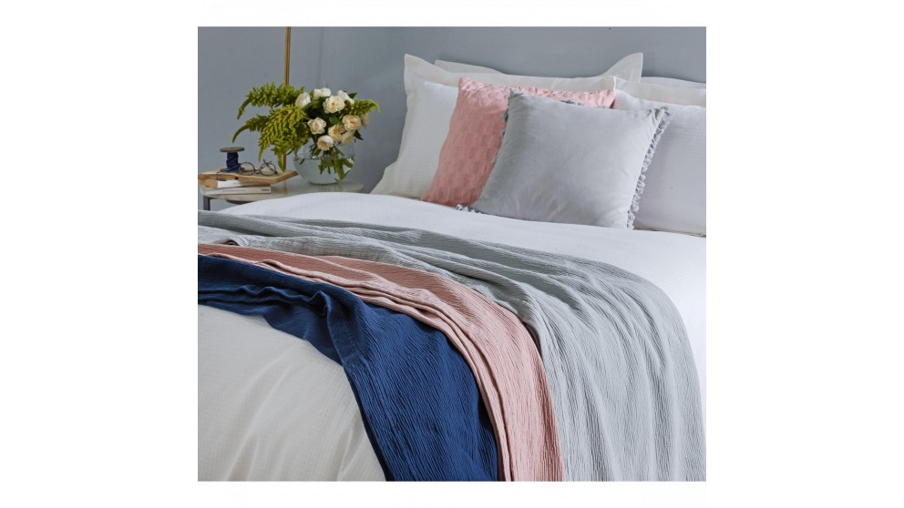 Ripples Indigo 220x220cm Comforter