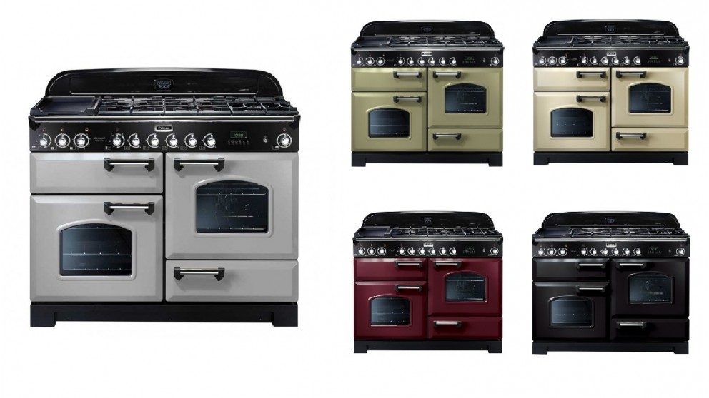 Falcon Classic Deluxe 1100mm Dual Fuel Freestanding Cooker