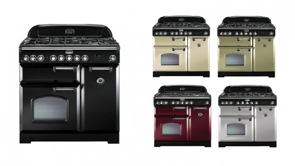 Falcon Classic Deluxe 900mm Dual Fuel Freestanding Cooker - Chrome Fittings