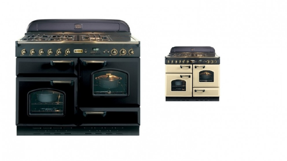 Falcon Classic 1100mm Dual Fuel Freestanding Cooker - Brass Fittings