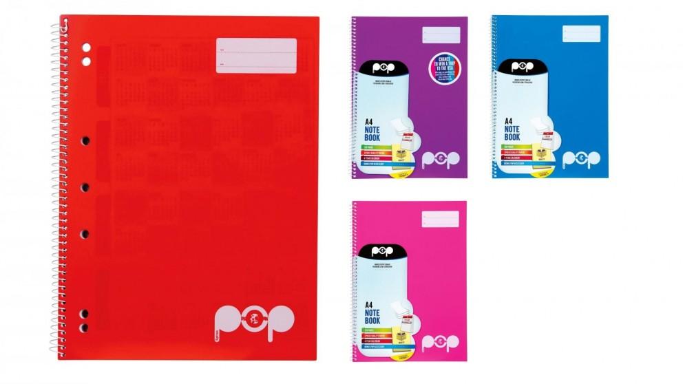 Spirax Pop P945 A4 Notebook