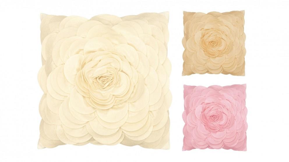 Floral Felt Cushion
