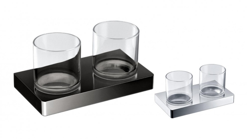Arcisan Zara Double Glass Holder