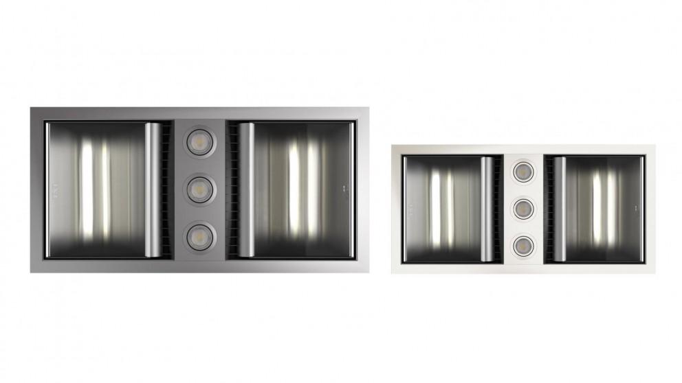 Buy ixl neo tastic dual bathroom heat fan light harvey norman au ixl neo tastic dual bathroom heat fan light mozeypictures Gallery