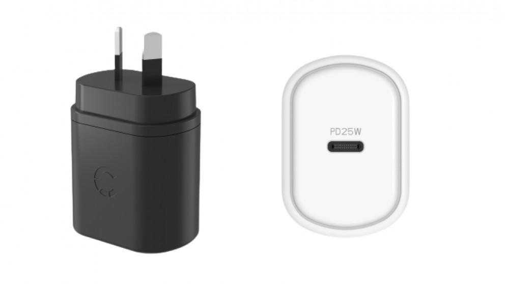 Cygnett PowerPlus 25W USB-C PD Wall Charger