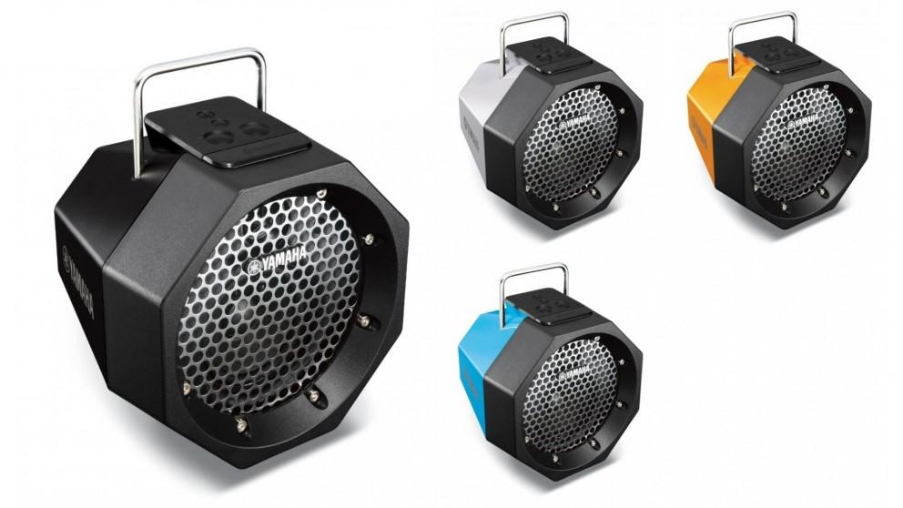 yamaha portable bluetooth speaker portable speakers sound systems headphones audio. Black Bedroom Furniture Sets. Home Design Ideas