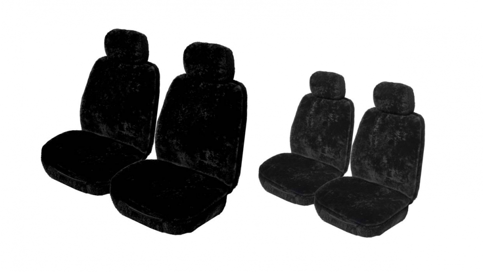 My Car Genuine Sheepskin Seat Cover 12mm - 14mm (Fronts Only)