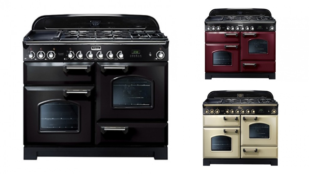 Falcon Classic 1100mm Dual Fuel Freestanding Cooker - Chrome Fittings
