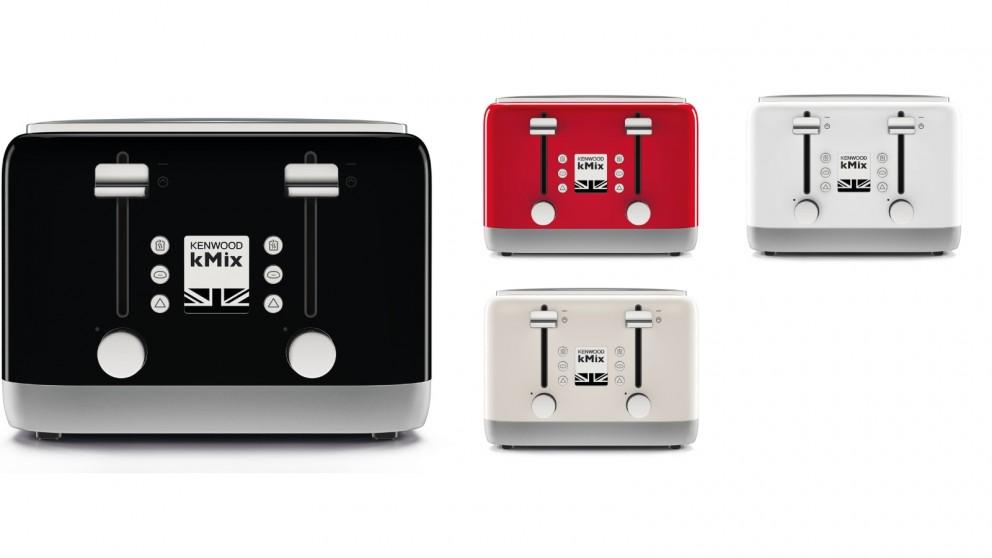 kenwood kmix 4 slice toaster toasters small kitchen. Black Bedroom Furniture Sets. Home Design Ideas
