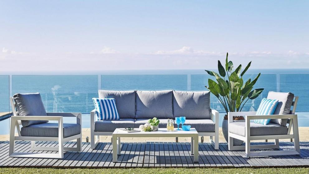 Buy Alias 9-Piece Outdoor Rectangular Dining Setting