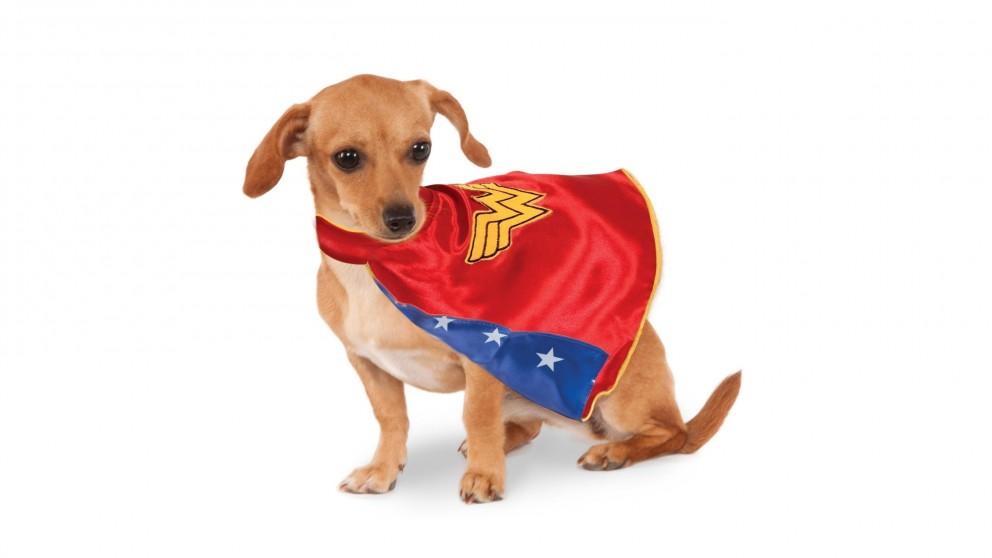Wonder Woman Cape Pet Costume