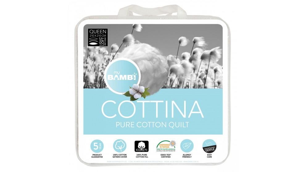 Cottina All Cotton Double Quilt