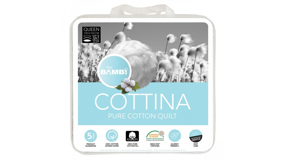 Cottina All Cotton King Quilt