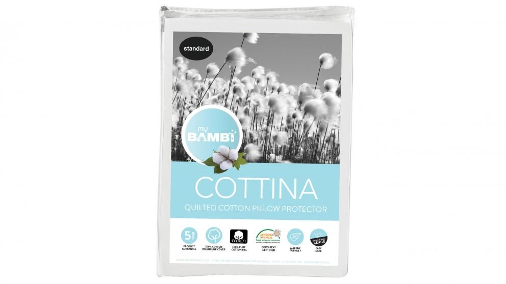 Bambi Cottina Cotton Pillow Protector