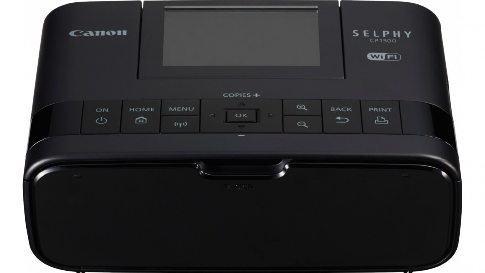 Buy Canon Selphy Cp1300 Compact Photo Printer Black Harvey Norman Au