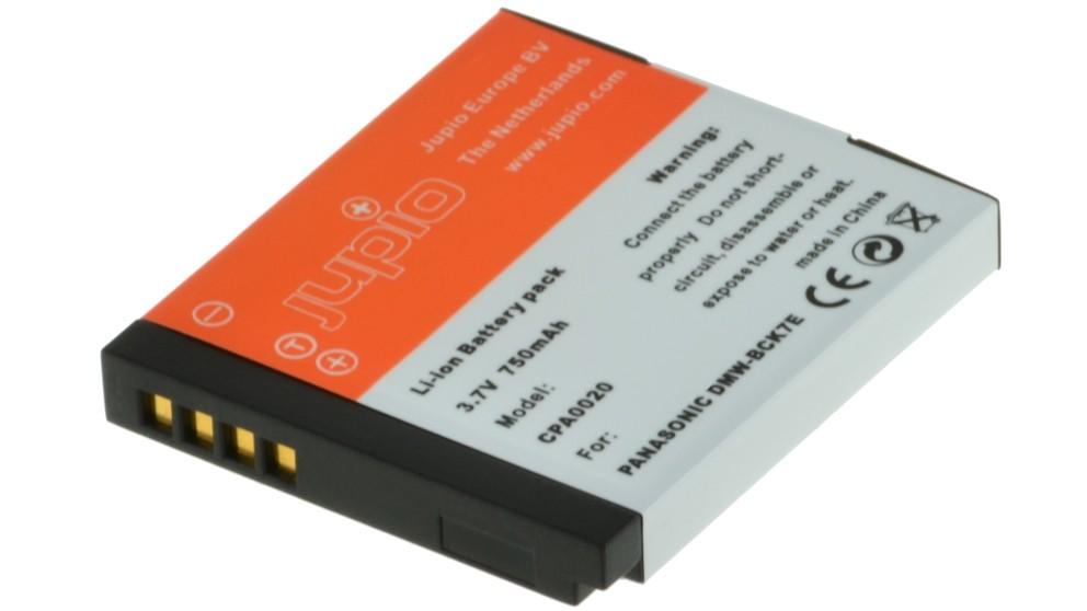 Jupio Panasonic DMW-BCK7E 750mAh Battery