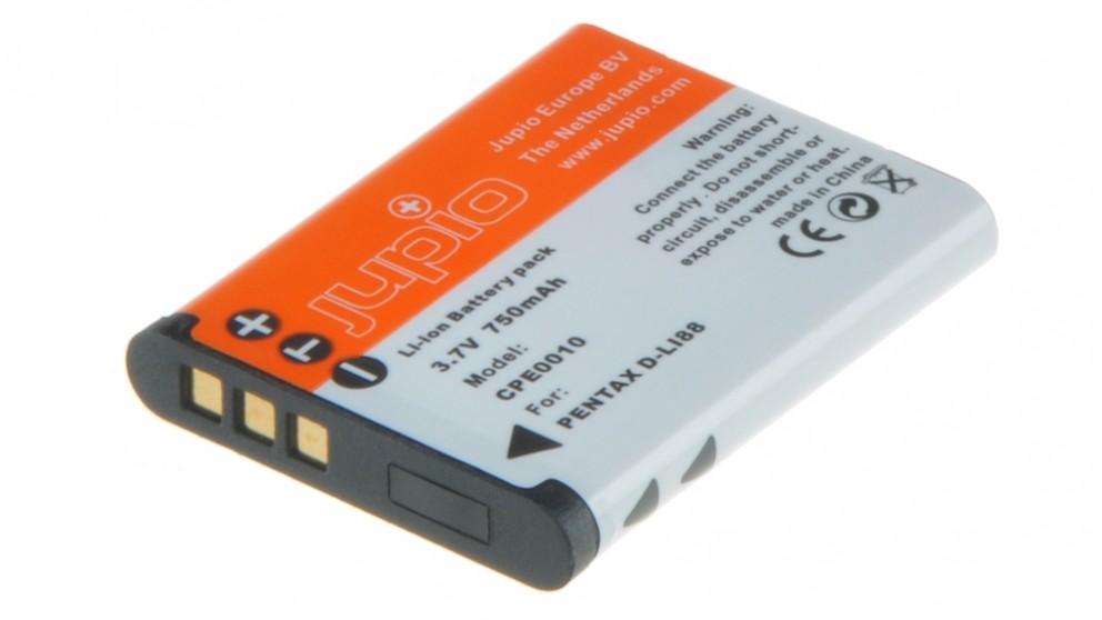 Jupio Pentax D-LI88 650mAh Battery