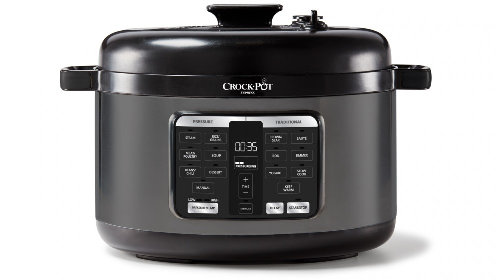 Crock-Pot Express 5.7L Easy Release Oval Multicooker