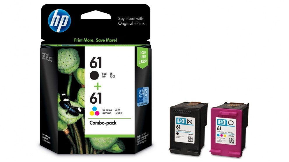 HP 61 Ink Combo Pack