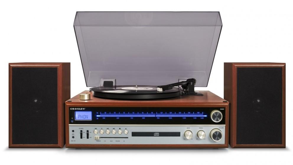 Crosley 1975T Entertainment System - Walnut
