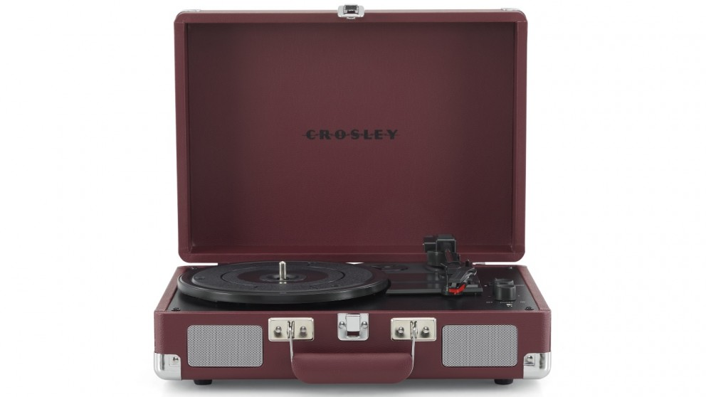 Crosley Cruiser Bluetooth Portable Turntable - Burgundy