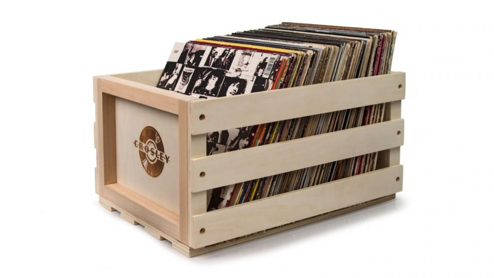 buy crosley record storage crate harvey norman au