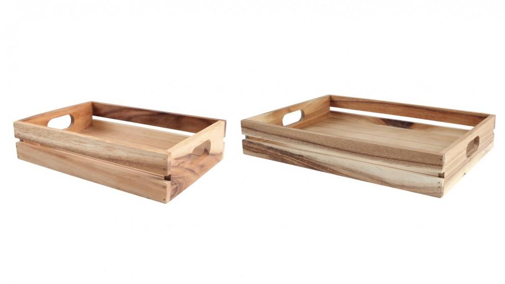 Wild Wood Display Crate
