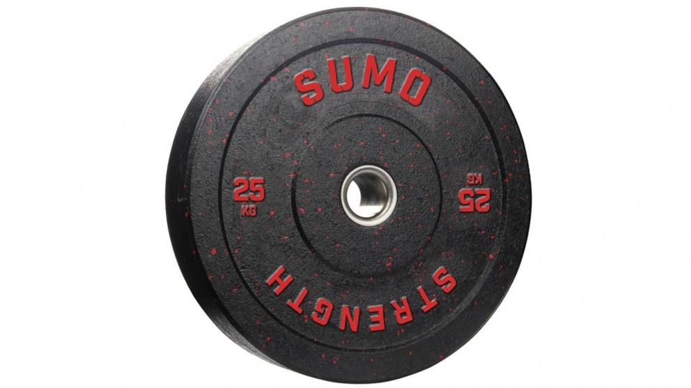 Sumo Strength Colour Rubber Bumper Plate - 25kg
