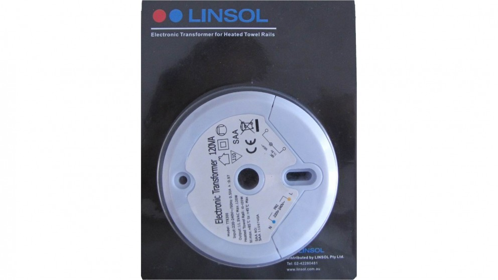 Linsol Transformer for Heated Towel Rail