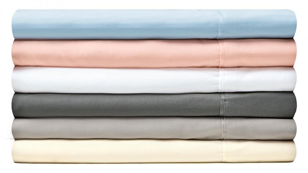 L'Avenue 300 Thread Count Single Sheet Set - Mint