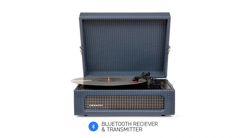 Crosley Voyager Bluetooth Portable Turntable - Navy