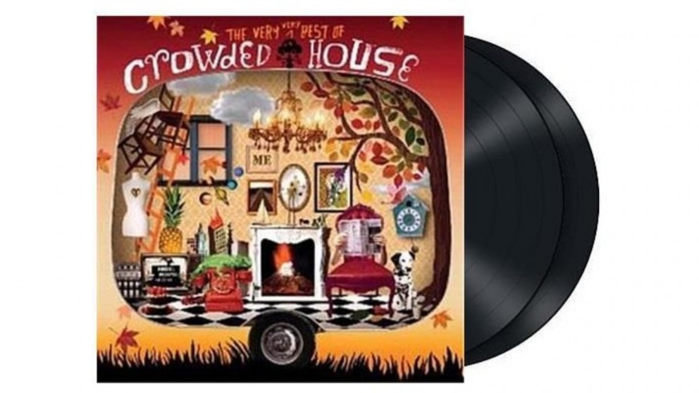 Crowded House The Very Very Best Of Crowded House Double Vinyl Album