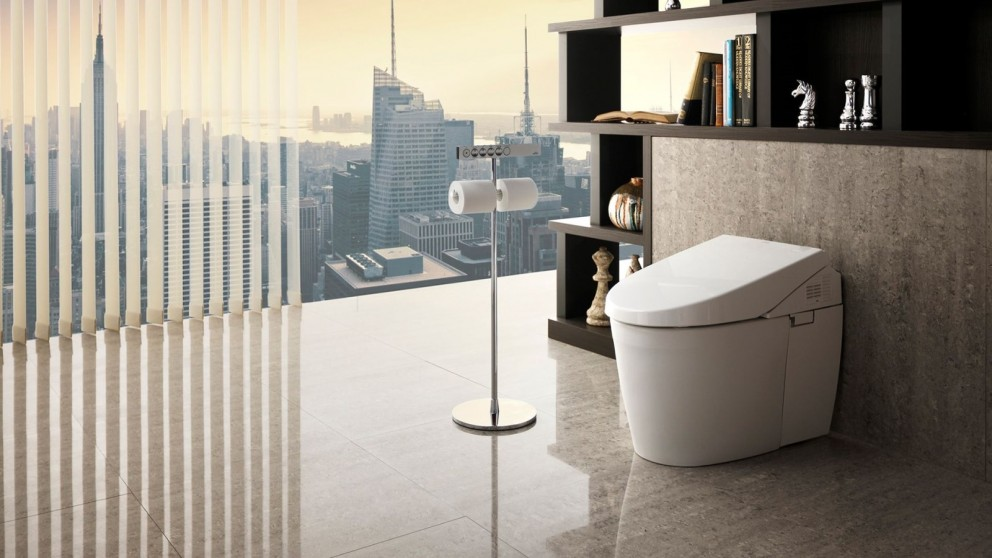 TOTO Neorest AH S-Trap Luxurious Integrated Toilet with Ecology System