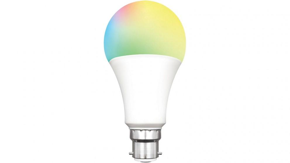 Connect Smart 10W B22 RGB LED Light Bulb
