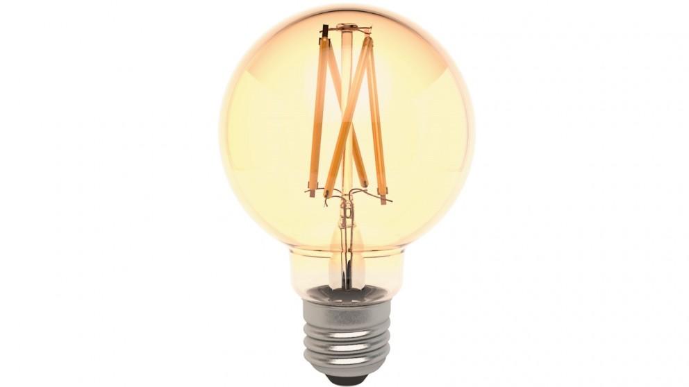 Connect Smart E27 G80 Filament Bulb Amber