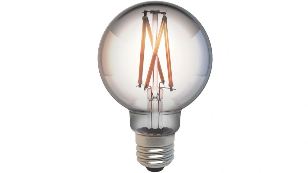 Connect Smart E27 G80 Filament Bulb Smoke